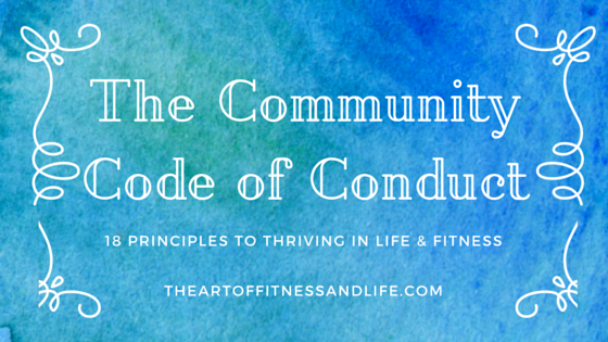 community code of conduct