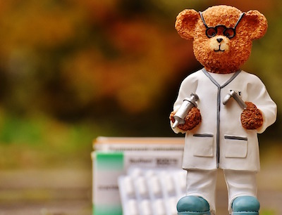 playing a doctor - bear – what are macros