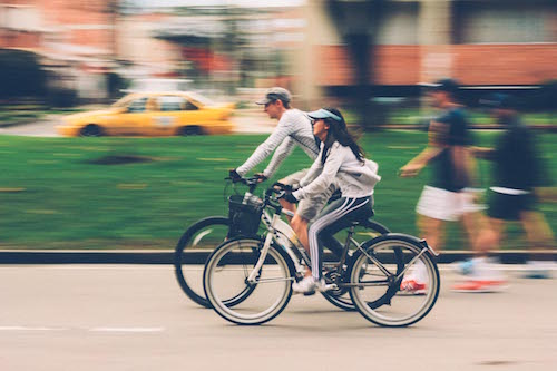 biking down the road—health and fitness audit