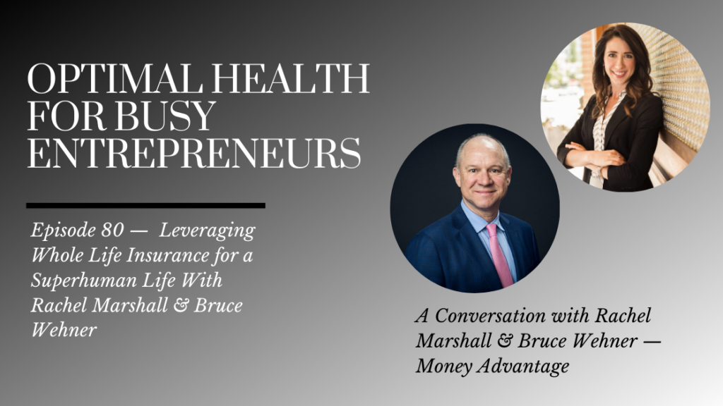 Leveraging Whole Life Insurance for a Superhuman Life With Rachel Marshall & Bruce Wehner